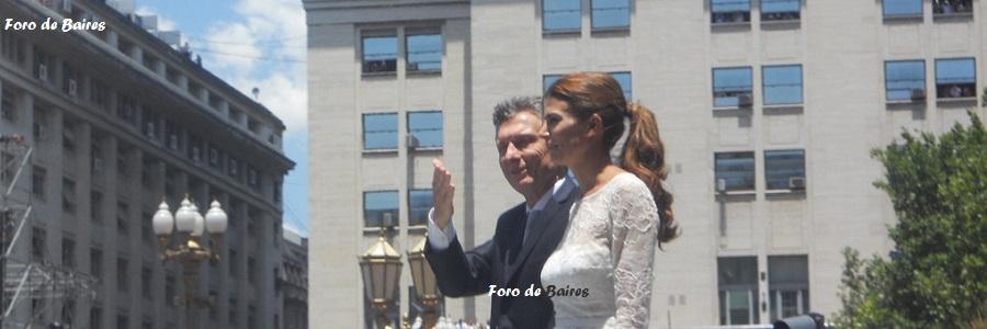 Macri ya es Presidente