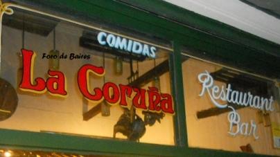 El Bar La Coruña: San Telmo