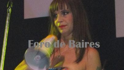Fabiana Cantilo en el Maipo