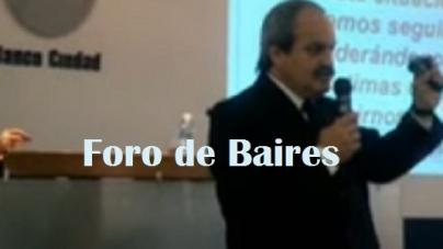 Juan Carlos Valda en el Banco Ciudad