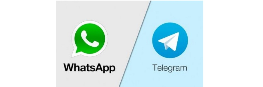 Telegram ganarìa a WhatsApp