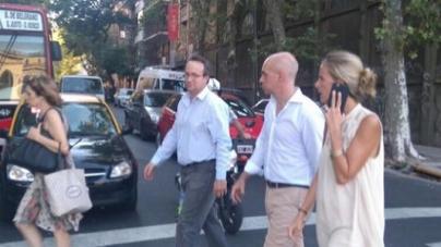 Larreta estuvo en Palermo