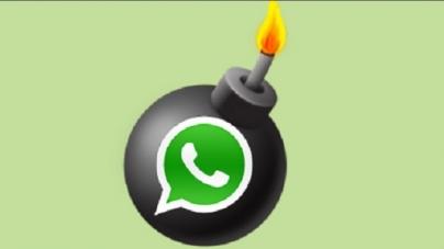 El whatsApp es una bomba