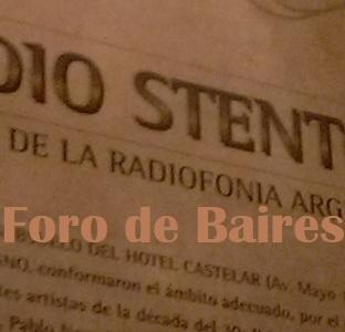 Radio Stentor en el Castelar