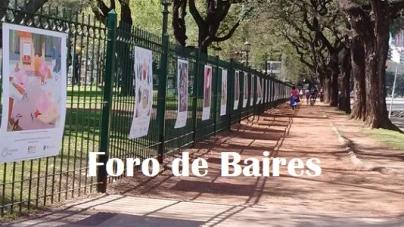 Expo al aire libre en Av. Casares
