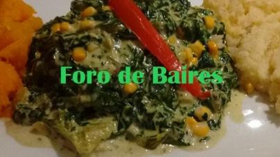 El panachè de verduras con purè