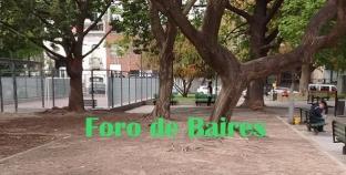 La Plaza Unidad Latinoamericana otra vez sin cèsped