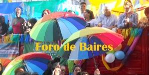 A toda fiesta, se realizò en Plaza de Mayo, el Dìa del Orgullo Gay Nº XXVI