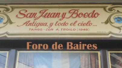 """Eventos: Visitas por los Bares Notables """"El Britànico"""", """"La Esquina Homero Manzi"""" y """"El Federal."""""""