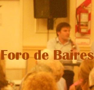 Facundo Carrillo estuvo en la Comuna 14 y hablò sobre la baja de Expensas