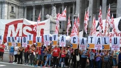 """Bodart: """"Macri le rinde pleitesía,  nosotros lo repudiamos"""""""