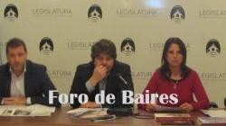 Los Medios Vecinales se reunieron nuevamente en la Legislatura Porteña