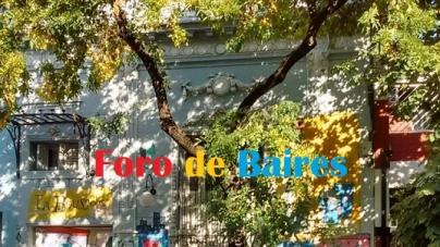 Las primeras hojas de Otoño en Palermo