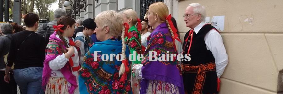 "Se realizò este Domingo pasado ""Buenos Aires celebra Polonia"""