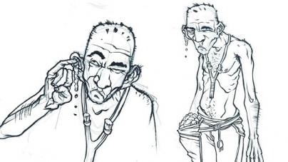 El loco Komare y El anarco atorrante