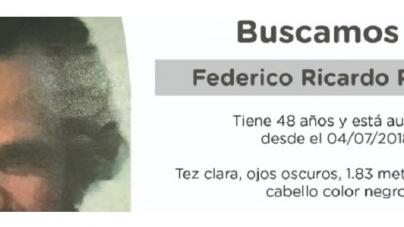 La Policía de la Ciudad pide colaboración en la búsqueda de Federico Ricardo Pahissa