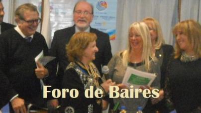 El Rotary Club de Flores distinguió a artistas en la Facultad de Derecho