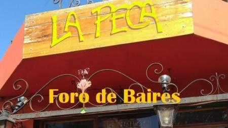 """Cuando """"El Bar La Peca"""" habrìa sus puertas en la esquina de Gascón y El Salvador"""