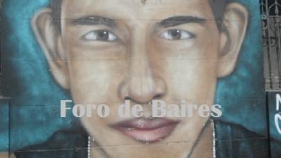 Un mural en Palermo recuerda al desaparecido Rodrigo Ibarra