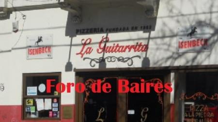 """La pizzerìa """"La Guitarrita"""" serà nombrada de interès cultural por la Legislatura Porteña"""
