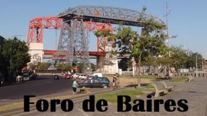 El Puente transbordador Nicolás Avellaneda