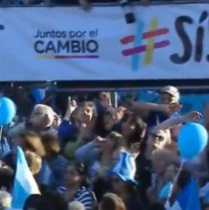 """Mauricio Macri relanzó su campaña en la primera marcha del """"Sí se puede"""""""