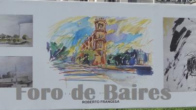 """La muestra """"Fervor por Buenos Aires ´Croquis´"""" se puede disfrutar en la Plaza Houssay"""