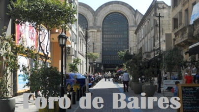 El Pasaje Carlos Gardel fue vandalizado