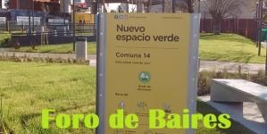 Nuevo Espacio verde en Córdoba y Juan B. Justo