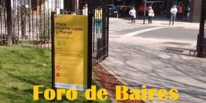 La Plaza Vicente López y Planes
