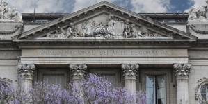 El Museo Nacional de Arte Decorativo, o Ex Palacio Errázuriz Alvear