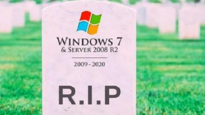 La vida de Windows 7 está llegando a su fin