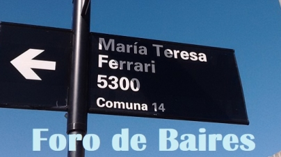 La Nueva Calle o Pasaje María Teresa Ferrari en el Parque Ferroviario