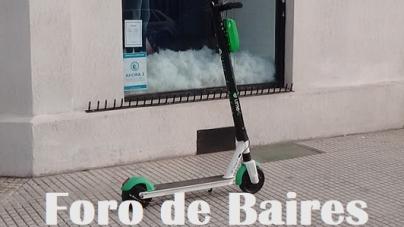 Menos Empresas en Buenos Aires apuestan a los Monopatines