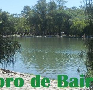 El Lago Regatas, Predio del Parque Tres de Febrero