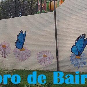 Otro Mural en el Parque Las Heras