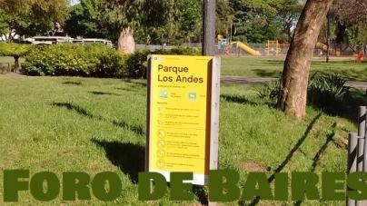 El parque Los Andes