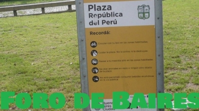 La Plaza República del Perú
