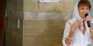 Reposición de placa homenaje a Alejandro Almeida