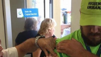 Cliba y el Ministerio de Salud del Gobierno de la Ciudad realizaron campaña de vacunación
