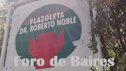 La Plazoleta Dr. Roberto Noble