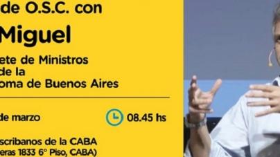 Comienzan los desayunos con Felipe Miguel (Evento suspendido)