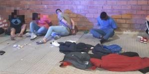 La Policía de la Ciudad detuvo a siete hombres, uno armado, en Belgrano, en inicio de cuarentena obligatoria