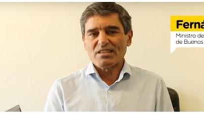 Coronavirus: consejos del ministro de Salud porteño para los trabajadores en general