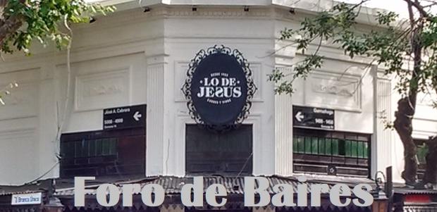"""Los Restaurantes """"Lo de Jesús"""" y """"La Malbequería"""" cierran temporáreamente por disposiciones de DNU"""