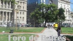 La Plaza Lavalle Ex Plaza del Parque