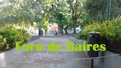 Cómo se ve la Plaza del Barrio en Cuarentena