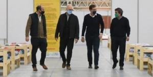 """El jefe de Gobierno Porteño presentó el nuevo sistema de resguardo """"Costa Salguero"""""""