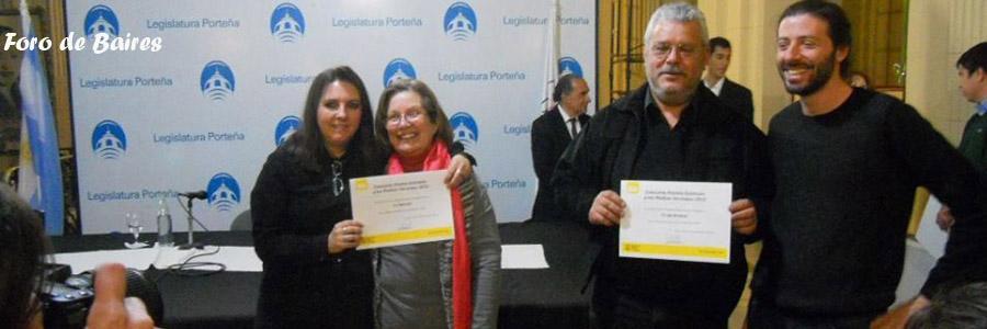 """""""La Naranja"""" festejò su premio 2013 en la Legislatura Porteña"""