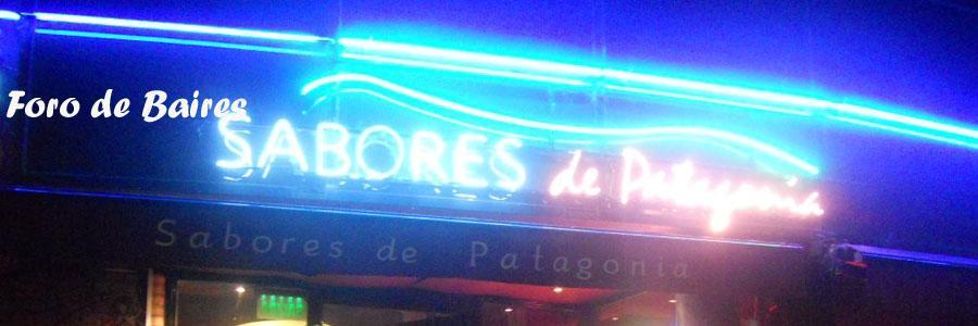 """El Restaurante """"Sabores de la Patagonia"""""""
